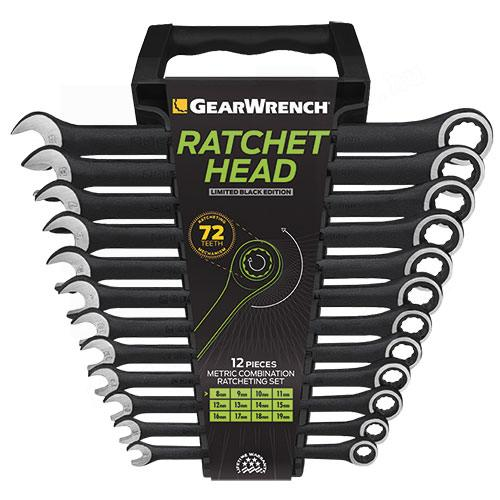 Gear Wrench racsnis csillag-villáskulcs készlet 12 részes