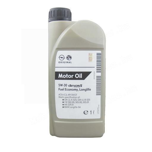 GM Motorolaj Dexos2 5W30 1L-es