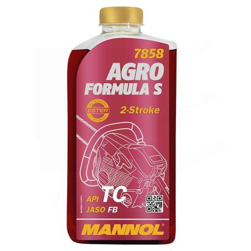 Mannol Agro STL 1L-es 2T olaj