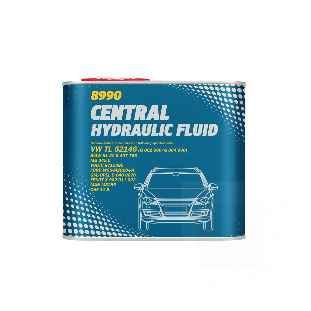 Mannol Central Hydraulic Fluid 500ml