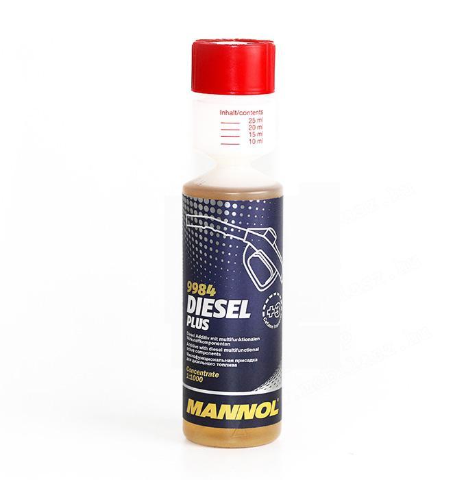 Mannol Diesel Plus diesel rendszer tisztító