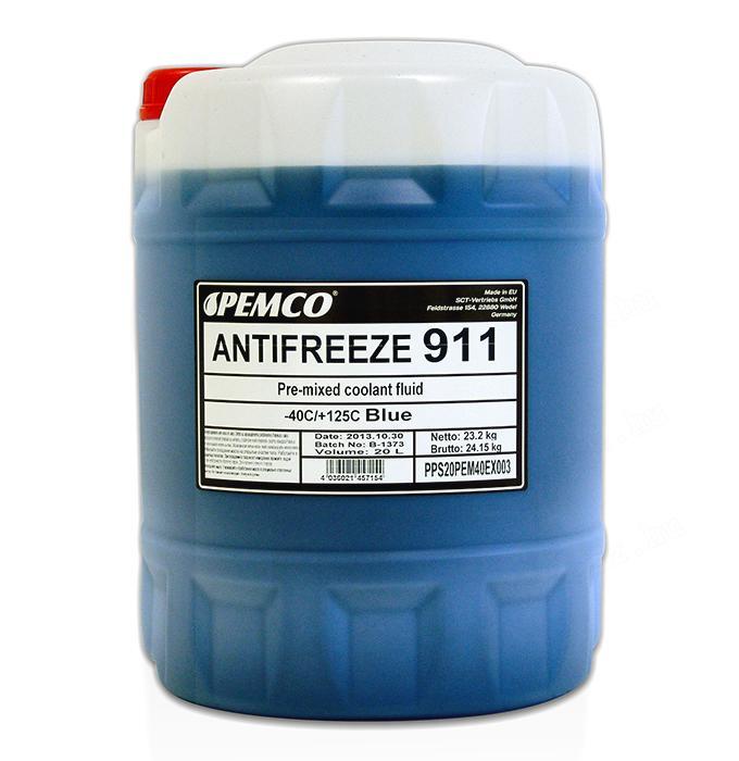 Pemco Antifreeze 911 (-40°) Fagyálló 20L-es