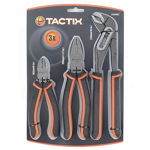 Tactix fogókészlet 3-részes