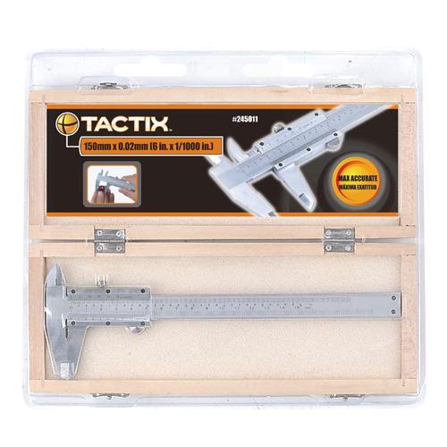 Tactix tolómérő 150mm Műanag dobozban!!