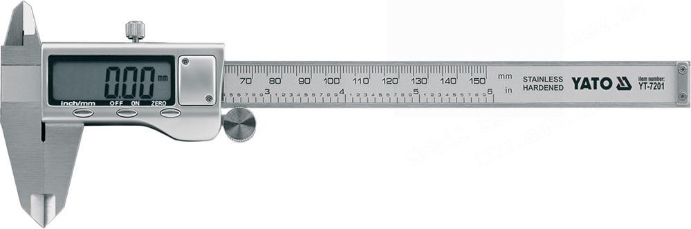 Yato Digitális tolómérő 150mm